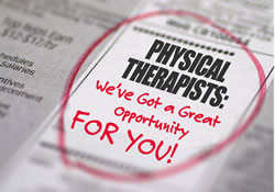 Perry Physical Therapy Job ad Image